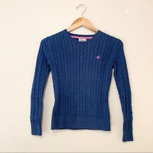 Lily Pulitzer Cable Knit Sweater